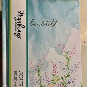 Journal- NEW- Christian Notebook- Be Still